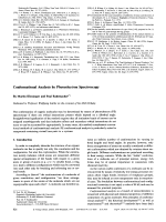 Conformational Analysis by Photoelectron Spectroscopy.