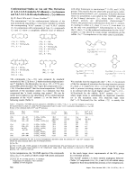 Conformational Studies on Aza and Thia Derivatives of 6 11 12 13-Tetrahydro-5H-dibenzo[a e]cyclononene and 5 6 7 12 13 14-Hexahydrodibenzo[a f]cyclodecene.
