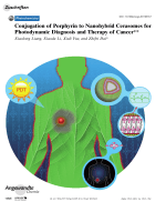 Conjugation of Porphyrin to Nanohybrid Cerasomes for Photodynamic Diagnosis and Therapy of Cancer.