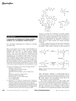Construction of Substituted N-Hydroxyindoles  Synthesis of a Nocathiacin I Model System.