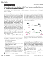Controlled Axial Coordination  Solid-Phase Synthesis and Purification of Metallo-Radiopharmaceuticals.