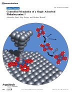 Controlled Metalation of a Single Adsorbed Phthalocyanine.