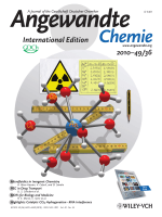 Cover Picture  [An(H2O)9](CF3SO3)3 (An=UЦCm  Cf)  Exploring Their Stability  Structural Chemistry  and Magnetic Behavior by Experiment and Theory (Angew. Chem. Int. Ed