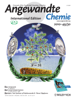 Cover Picture  A Docosanuclear {Mo8Mn14} Cluster Based on [Mo(CN)7]4 (Angew. Chem. Int. Ed. 302010)