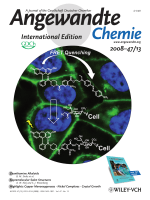 Cover Picture  A FRET-Based Fluorogenic Phosphine for Live-Cell Imaging with the Staudinger Ligation (Angew. Chem. Int. Ed. 132008)
