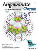 Cover Picture  Amine Grafting on Coordinatively Unsaturated Metal Centers of MOFs  Consequences for Catalysis and Metal Encapsulation (Angew. Chem. Int. Ed. 222008)