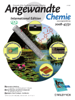 Cover Picture  Bioinspired Superhydrophobic Coatings of Carbon Nanotubes and Linear Systems Based on the УBottom-upФ Self-Assembly Approach (Angew. Chem. Int. Ed. 312008)
