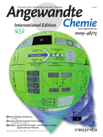 Cover Picture  Compartmentalization of Chemically Separated Components into Droplets (Angew. Chem. Int. Ed. 152009)