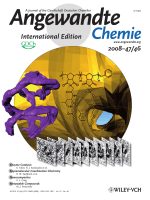 Cover Picture  Cryo Electron Tomography Reveals Confined Complex Morphologies of Tripeptide-Containing Amphiphilic Double-Comb Diblock Copolymers (Angew. Chem. Int. Ed. 462008)