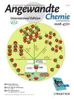 Cover Picture  Designed Synthesis of POMЦOrganic Frameworks from {Ni6PW9} Building Blocks under Hydrothermal Conditions (Angew. Chem. Int. Ed. 212008)