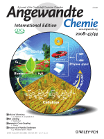 Cover Picture  Direct Catalytic Conversion of Cellulose into Ethylene Glycol Using Nickel-Promoted Tungsten Carbide Catalysts (Angew. Chem. Int. Ed. 442008)