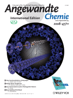 Cover Picture  Directed 1D Assembly of a Ring-Shaped Inorganic Nanocluster Templated by an Organic Rigid-Rod Molecule  An InorganicOrganic Polypseudorotaxane (Angew. Chem. Int. Ed. 112008)