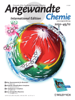 Cover Picture  Enantioselective Kita Oxidative Spirolactonization Catalyzed by InSitu Generated Chiral Hypervalent Iodine(III) Species (Angew. Chem. Int. Ed. 122010)
