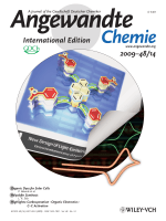 Cover Picture  Enhancement of Electrogenerated Chemiluminescence and Radical Stability by Peripheral Multidonors on Alkynylpyrene Derivatives (Angew. Chem. Int. Ed. 142009)