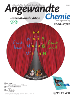 Cover Picture  Facile Heterolytic H2 Activation by Amines and B(C6F5)3 (Angew. Chem. Int. Ed. 322008)