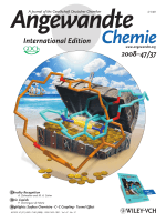 Cover Picture  Gold(I)-Template Catenane and Rotaxane Synthesis (Angew. Chem. Int. Ed. 372008)