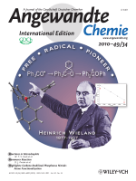 Cover Picture  Isomerization of Triphenylmethoxyl  The Wieland Free-Radical Rearrangement Revisited a Century Later (Angew. Chem. Int. Ed. 342010)