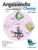 Cover Picture  Isomerization-Induced Asymmetric Coordination Chemistry  From Auxiliary Control to Asymmetric Catalysis (Angew. Chem. Int. Ed. 432010)