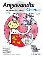 Cover Picture  MetalЦOrganic Frameworks from Edible Natural Products (Angew. Chem. Int. Ed. 462010)