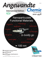 Cover Picture  Nanoparticulate Functional Materials (Angew. Chem. Int. Ed. 82010)