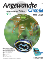 Cover Picture  Photomanipulation of a Droplet by the Chromocapillary Effect (Angew. Chem. Int. Ed. 492009)