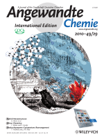 Cover Picture  Sensitive and Selective Chromogenic Sensing of Carbon Monoxide by Using Binuclear Rhodium Complexes (Angew. Chem. Int. Ed. 292010)