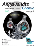 Cover Picture  Single-Crystalline Molecular Flasks  Chemical Transformation with Bulky Reagents in the Pores of Porous Coordination Networks (Angew. Chem. Int. Ed. 422008)