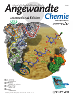 Cover Picture  The AlkB Domain of Mammalian ABH8 Catalyzes Hydroxylation of 5-Methoxycarbonylmethyluridine at the Wobble Position of tRNA (Angew. Chem. Int. Ed. 472010)