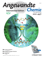 Cover Picture  Wacker-Type Oxidation of Internal Olefins Using a PdCl2N N-Dimethylacetamide Catalyst System under Copper-Free Reaction Conditions (Angew. Chem. Int. Ed