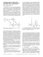 Crosslinking of Adjacent Guanine Residues in an Oligonucleotide by cis-[Pt(NH3)2(H2O)2]2+  Kinetic Analysis of the Two-Step Reaction.