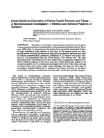 Cross-sectional geometry of Pecos Pueblo femora and tibiaeЧA biomechanical investigation  I. Method and general patterns of variation