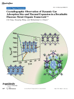 Crystallographic Observation of Dynamic Gas Adsorption Sites and Thermal Expansion in a Breathable Fluorous MetalЦOrganic Framework.