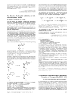 Cycloadditions of Phosphonodithioic Anhydrides; Formation of Dienephosphinodithioic Acids.