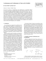Cyclobutanones and Cyclobutenones in Nature and in Synthesis [New Synthetic Methods(71)].