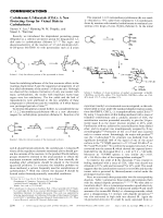 Cyclohexane-1 2-diacetals (CDA)  A New Protecting Group for Vicinal Diols in Carbohydrates.