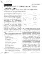 Dehydroiodination of Iodo- and Diiodomethane by a Transient Phosphinidene Complex.