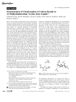 Demonstration of Chemisorption of Carbon Dioxide in 1 3-Dialkylimidazolium Acetate Ionic Liquids.