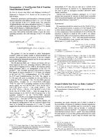 DeoxygenationЧA Novel Reaction Path of Transition Metal-Substituted Ketenes.