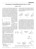 Deracemization by Enantiodifferentiating Inversion in 1 3-Diols.