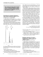 Derivatization-Free Enantiomer Resolution of Chiral Alcohols and Ketones by High-Resolution Complexation Gas Chromatography.