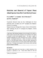 Detection and Removal of Vapour Phase Alkali Species from Hot Coal-Derived Gases.