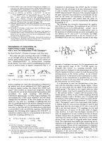 Determination of Connectivities via Small Proton-Carbon Couplings with a New Two-Dimensional NMR Technique.