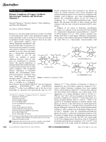 Diazene Complexes of Copper  Synthesis  Spectroscopic Analysis  and Electronic Structure.