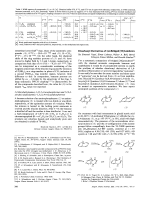 Dicarbonyl Derivatives of 1 6-Bridged [10]Annulenes.