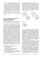 Die absolut Konfiguration von Michellamin B  einem ДdimerenФ  anti-HIV-aktiven Naphthylisochinolin-Alkaloid.