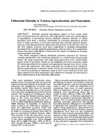 Differential mortality in Turkana agriculturalists and pastoralists.
