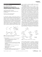 Dimerization of a Cyclo-14 32 42-Triphosphapentadienyl Radical  Evidence for PhosphorusЦPhosphorus Odd-Electron Bonds.