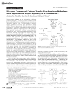 Divergent Outcomes of Carbene Transfer Reactions from Dirhodium- and Copper-Based Catalysts Separately or in Combination.