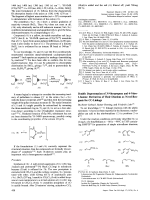 Double Deprotonation of 3-Nitropropene and 4-Nitro-1-butene  Derivatives of Their Dianions as Novel Reagents for CC-Linkage.