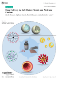 Drug Delivery by Soft Matter  Matrix and Vesicular Carriers.